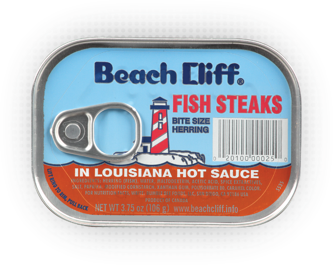 Beach Cliff® Fish Steaks In Louisiana Hot Sauce