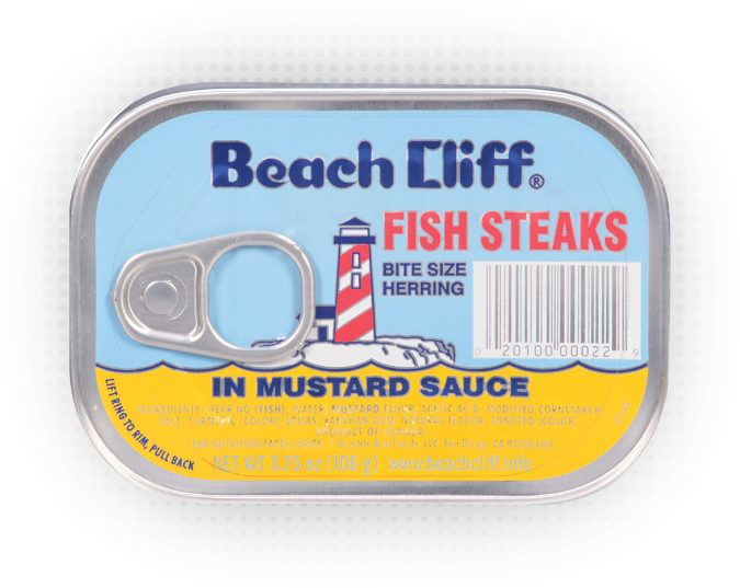 Beach Cliff® Fish Steaks In Mustard Sauce