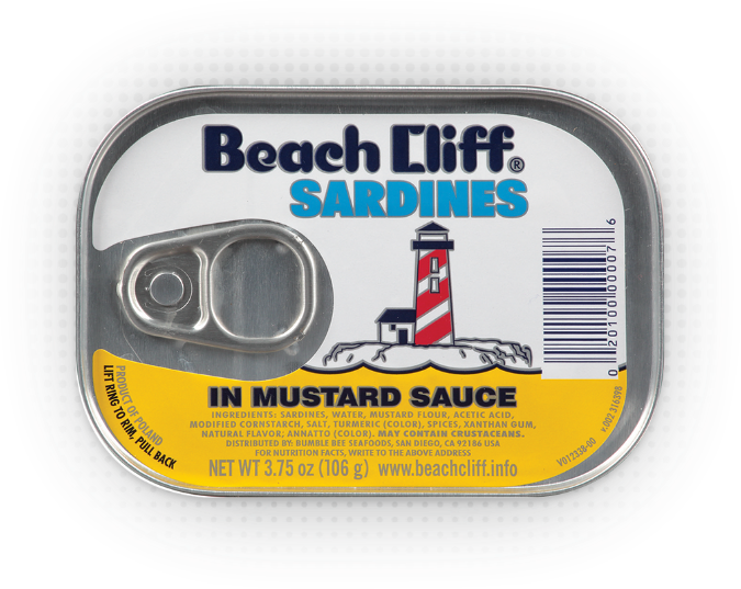 Beach Cliff® Sardines In Mustard Sauce