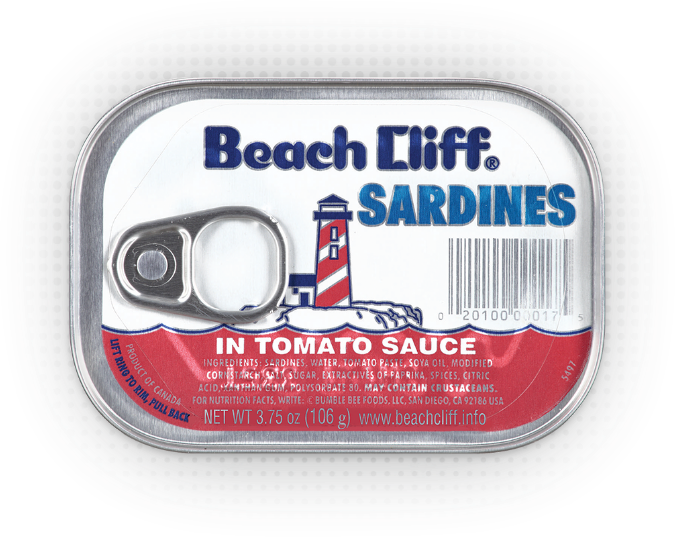 Beach Cliff® Sardines in Tomato Sauce